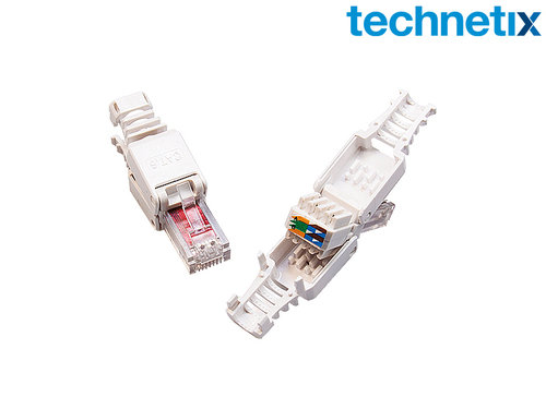 RJ45 snap-on connector voor CAT5/6, 2 stuks